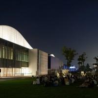 「真夏の夜の星空上映会」の様子